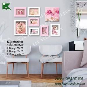 Bộ khung ảnh đồng hồ KDH003 1