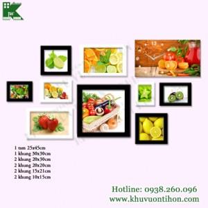 Bộ khung ảnh đồng hồ KDH010 2