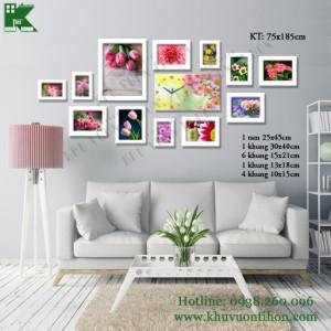 Bộ khung ảnh đồng hồ KDH011 1