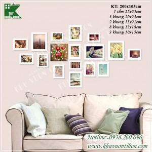 Bộ khung ảnh đồng hồ KDH013 1