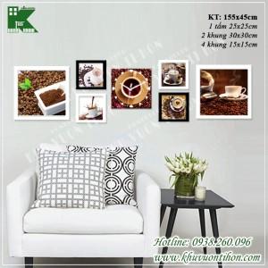 Bộ khung ảnh đồng hồ KDH014 1